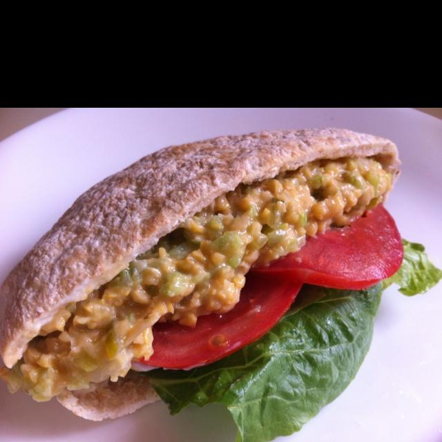 Mock Tuna Salad... YUM!   5-Star Vegan   Pinterest