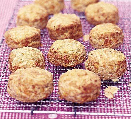Cheddar scones - I plan on bringing a savory scone... I'll test the ...