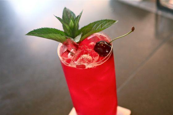 Sour Cherry Americano | Recipe