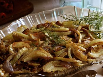 "Caramelized Fennel and Onions with Orange Rind"" from Cookstr.com # ..."