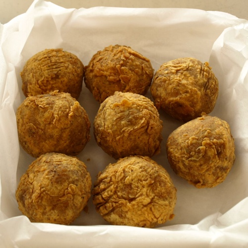 Boudin Balls! @Maddy Harris Jenkins, please ask Dave, what you would ...