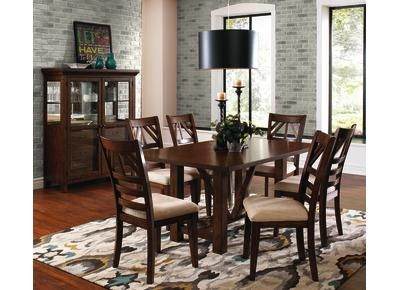 badcock terra dining room set 993906 for the home