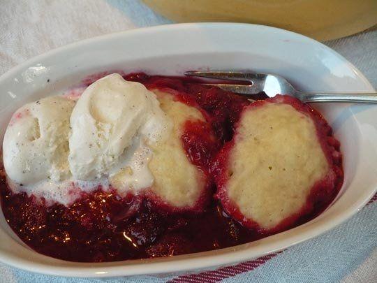 Strawberries And Dumplings Recipe — Dishmaps