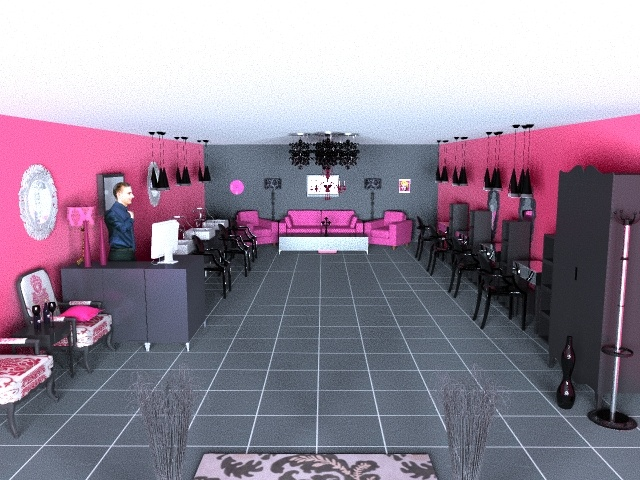 trendy hair salon salon decor pinterest