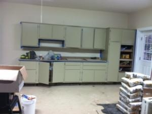 Kitchen cabinets repurposed to garage ideas for nuthouse pinterest