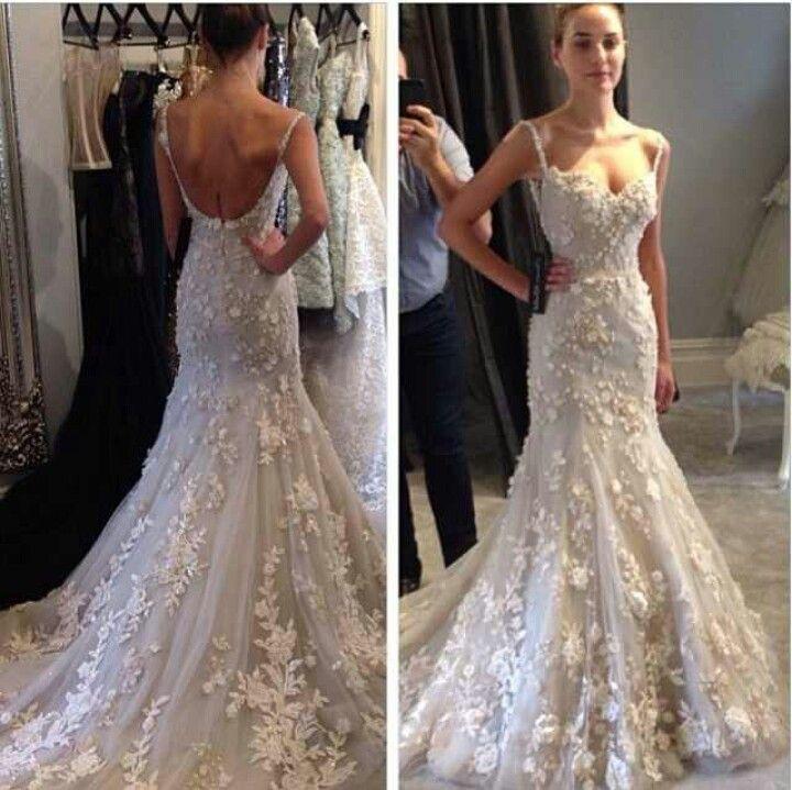 Wedding gown consignment new york, steven khalil backless wedding ...