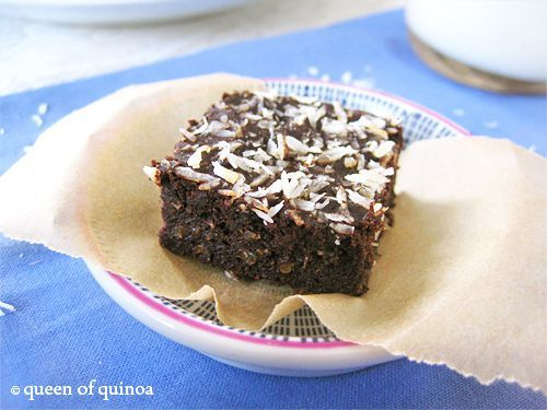 Fudgy Quinoa Brownies | Recipe