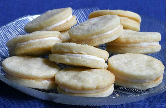Lemon Shortbread Sandwich Cookies | Sweet stuff | Pinterest
