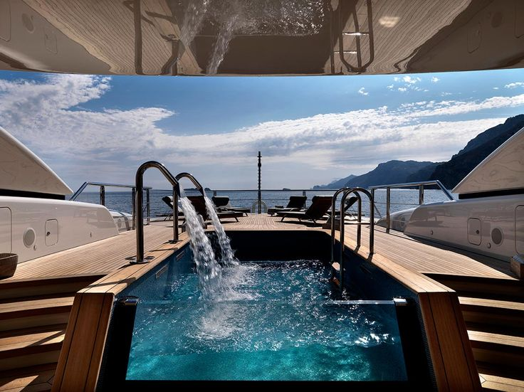 Alternative Hot Tub Luxury Boats Yachts Pinterest