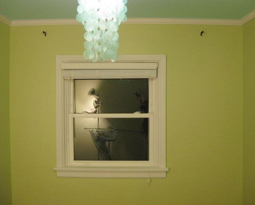 "How to:  ""cheating"" an unbalanced window AND no sew curtain panels.  We do this with our windows and it works!"