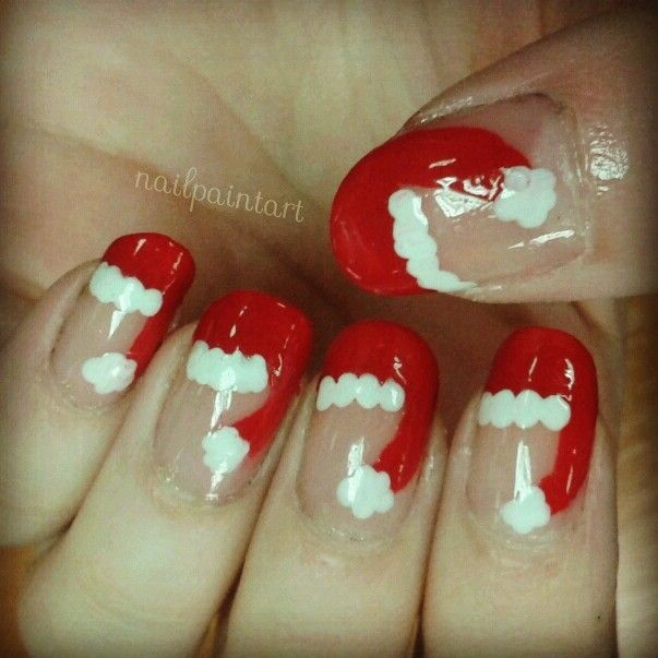21 Fabulous and Easy Christmas Nail Designs picture