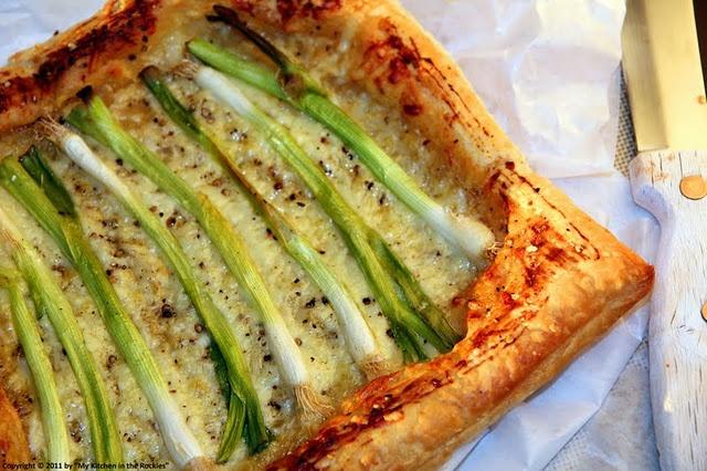 Scallion Tart | Pies and Tarts | Pinterest