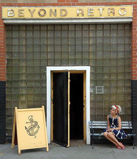 Beyond Retro, Vintage clothes store, Cheshire Street, Brick Lane