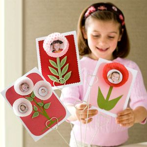 Fun idea for a Grandparent or Mother's Day gift. #card #craft