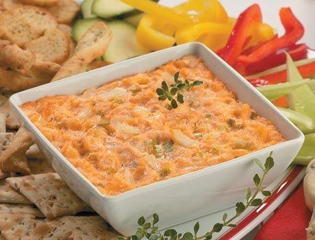 Hot Crab Dip - Crab Recipes | Recipes | Pinterest