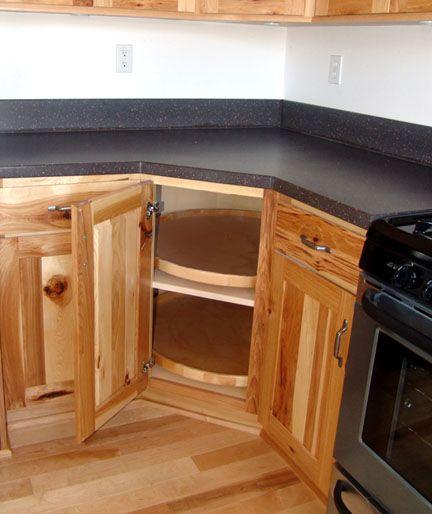 Diagonal sink base cabinet w lazy susan jpg 62883 bytes