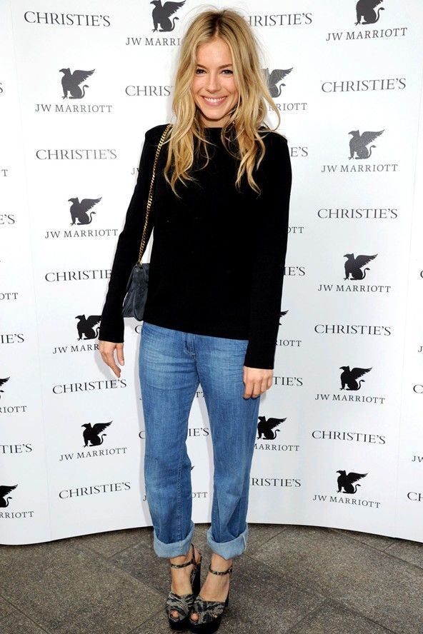 Denim sienna miller casual clothes pinterest Sienna miller fashion style tumblr