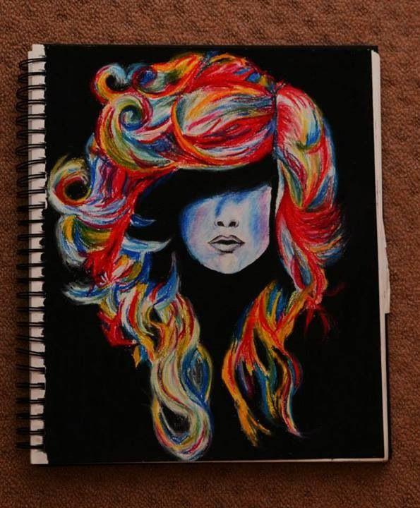 Oil Pastels Art Ideas Pinterest