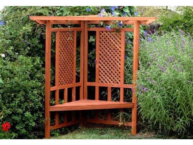Trellis Bench Outdoor Living Pinterest