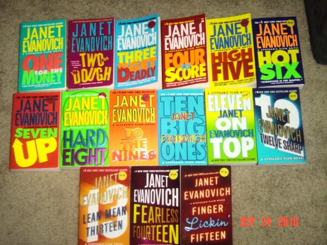 Janet Evanovich's Stephanie Plum Series -- the best of quick, light reading. Don't judge these books by the movie!