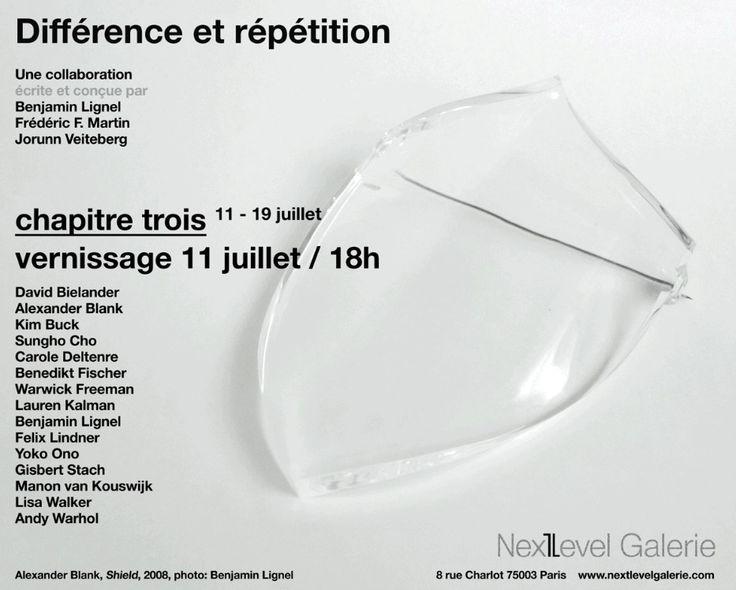 Différence & Répétition - III