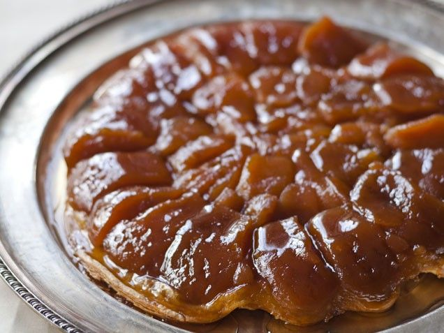 Caramelized Apple Tart (Tarte Tatin). All you need to do to convert to ...