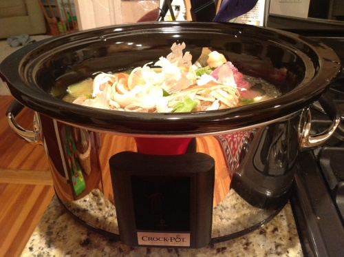 ... brian: slow cooker chicken stock | Tasty Slow Cooker Recipies