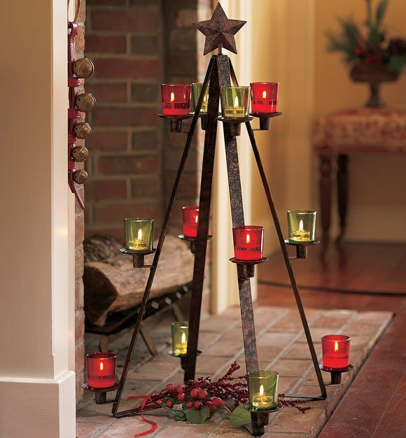 Rustic giving tree party lite christmas pizzazz for Partylite dekoration