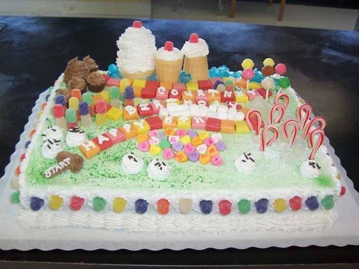 Candyland Cake Cakes Pinterest