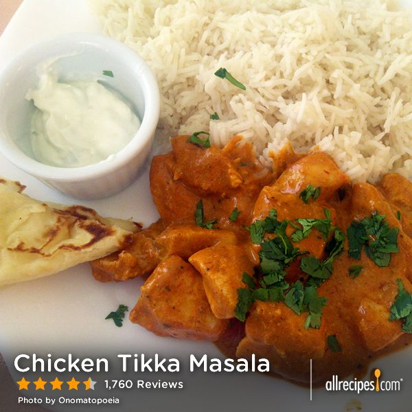"Masala | ""This is an easy recipe for Chicken Tikka Masala - Chicken ..."