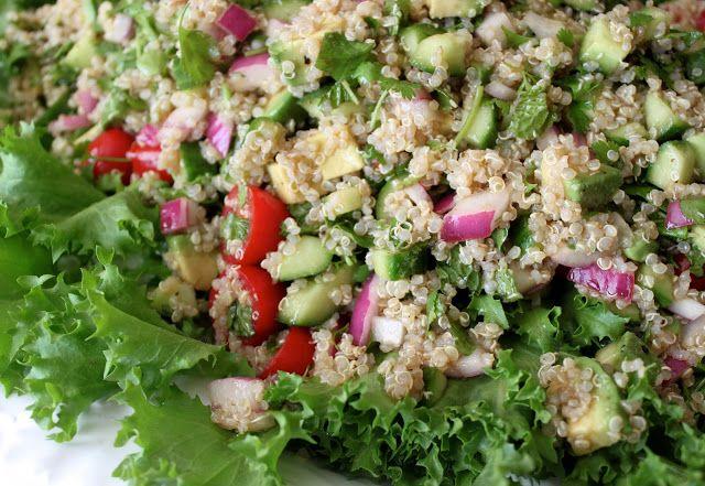 Quinoa Salad | Healthy Eats | Pinterest
