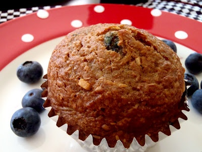 Macke Monologues: Honey Coconut Blueberry Bran Muffins - these are so ...