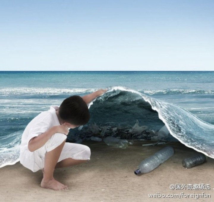 all the rubbish in the sea