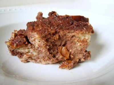 bread pudding chocolate caramel bread pudding quick chocolate bread ...