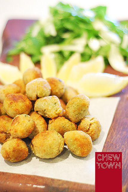 Meat stuffed fried olives. | F & B | Pinterest