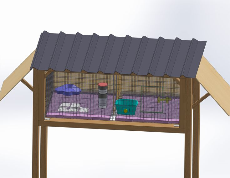 How to build a rabbit cage our farm pinterest - How to make a rabbit cage ...