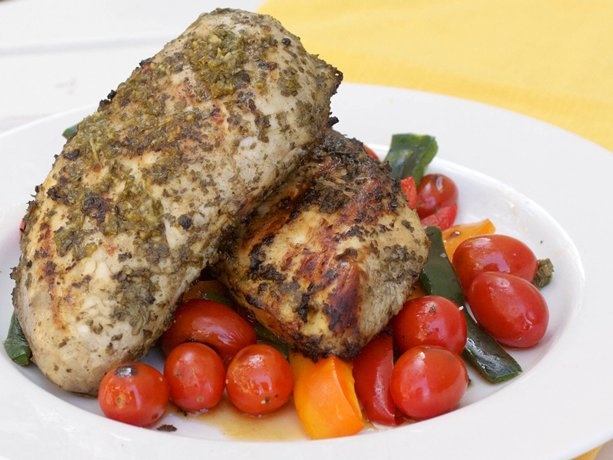 Grilled Chimichurri Chicken | Recipe