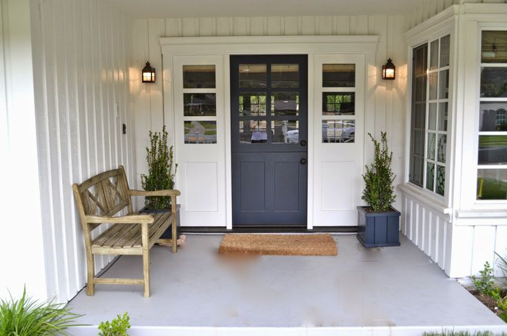 The cape cod ranch renovation it 39 s hot outside pinterest for Cape cod front door