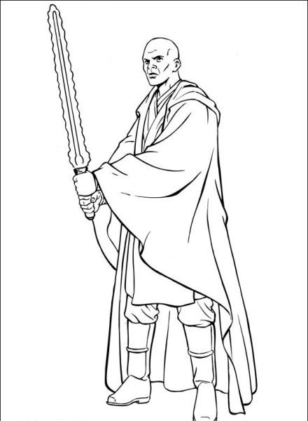 mace windu coloring pages  28 images  wars mace windu dessins