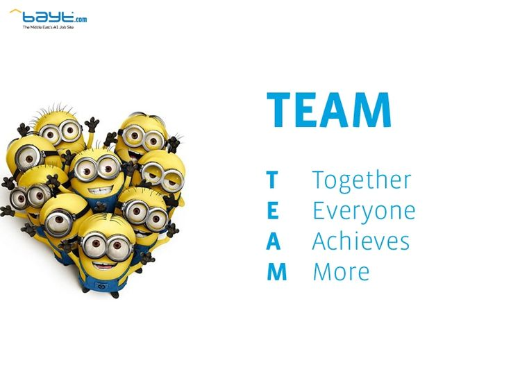 Image Gallery Minions Teamwork