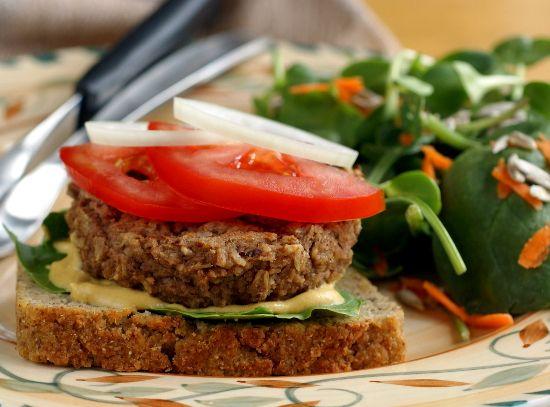 Meaty Eggplant Burgers | Healthy Dinner | Pinterest