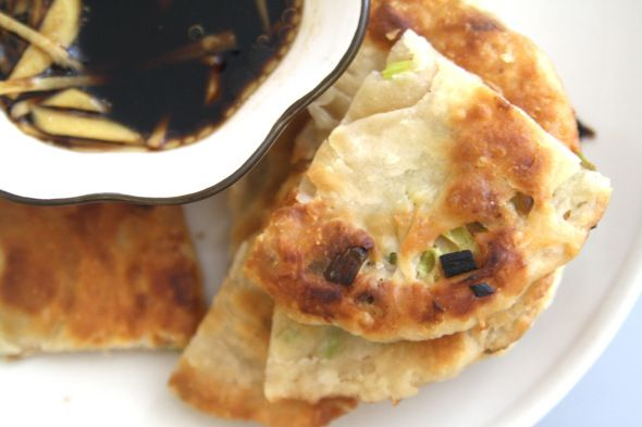 Flaky Chinese Scallion Pancakes | Foodie Goodies | Pinterest