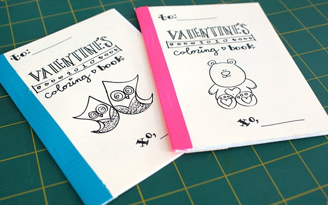 v day coloring book
