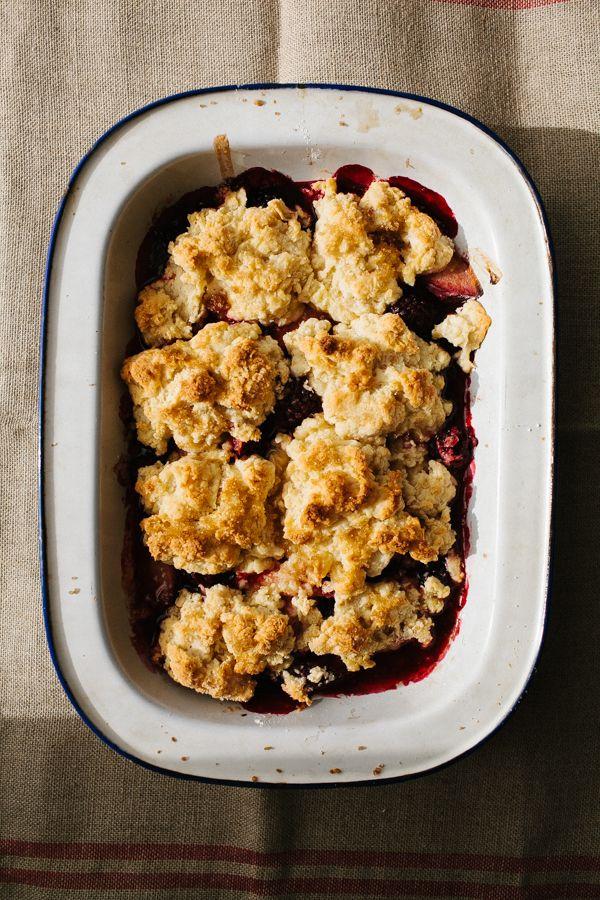 berry cobbler plum and berry cobbler recipes dishmaps berry cobbler ...