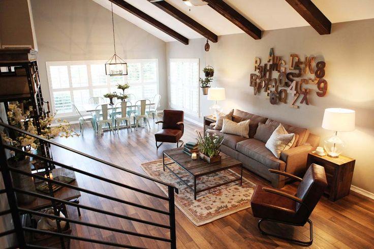 Fixer upper living room family room study ideas pinterest for Living room ideas magnolia