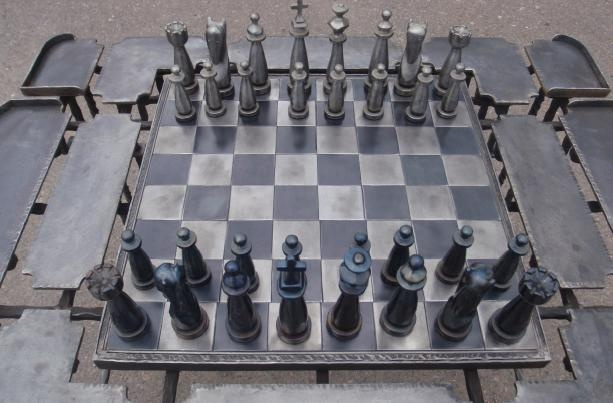 Colorado Chess Player 39 S Solid Steel Chess Sets