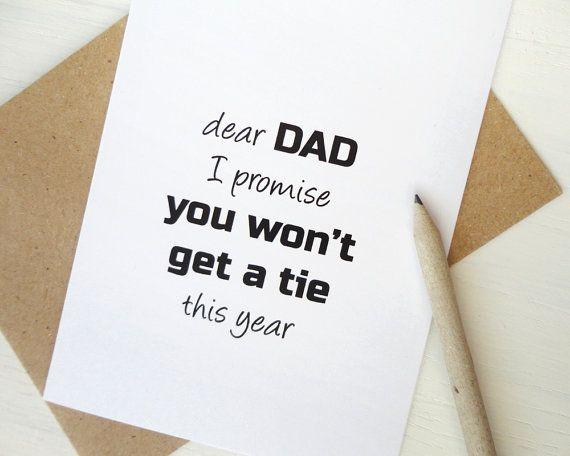 funny father's day card from wife