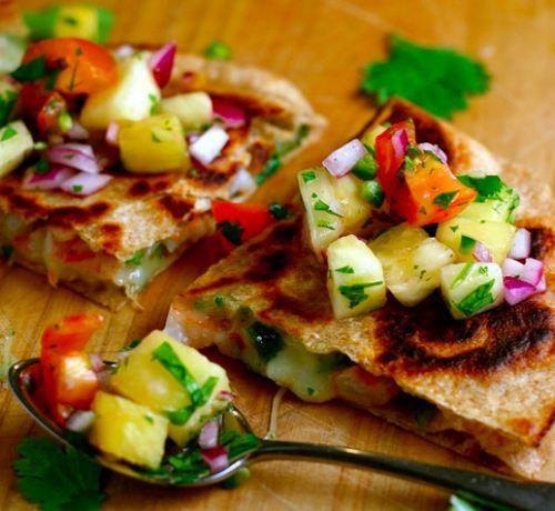 Shrimp Quesadillas | Sandwiches and tacos | Pinterest