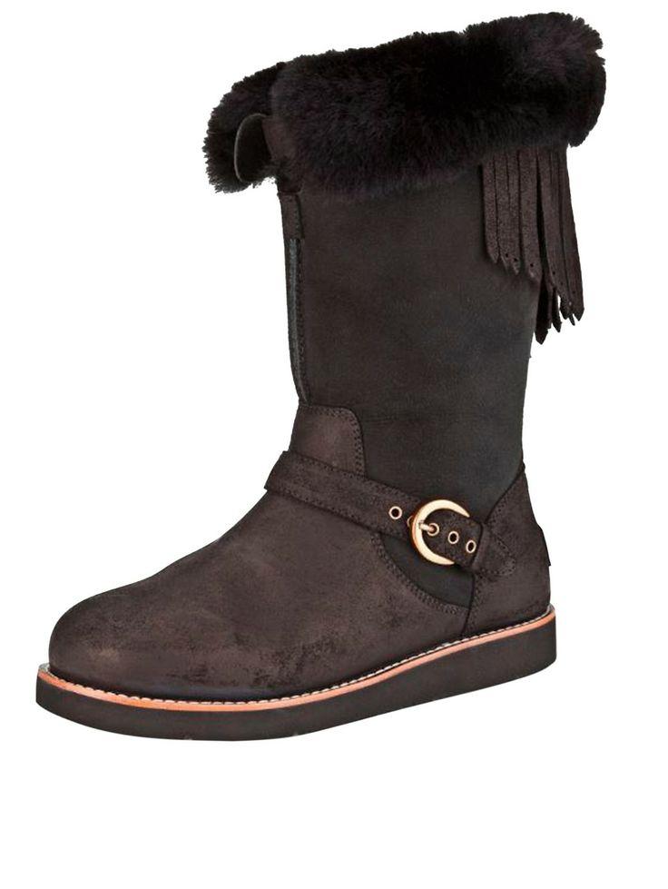 ugg fringe boots