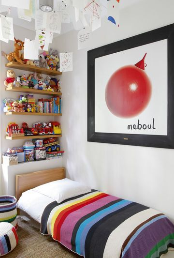 Colorful modern kid's room | More photos http://petitlien.fr/appartementrdj